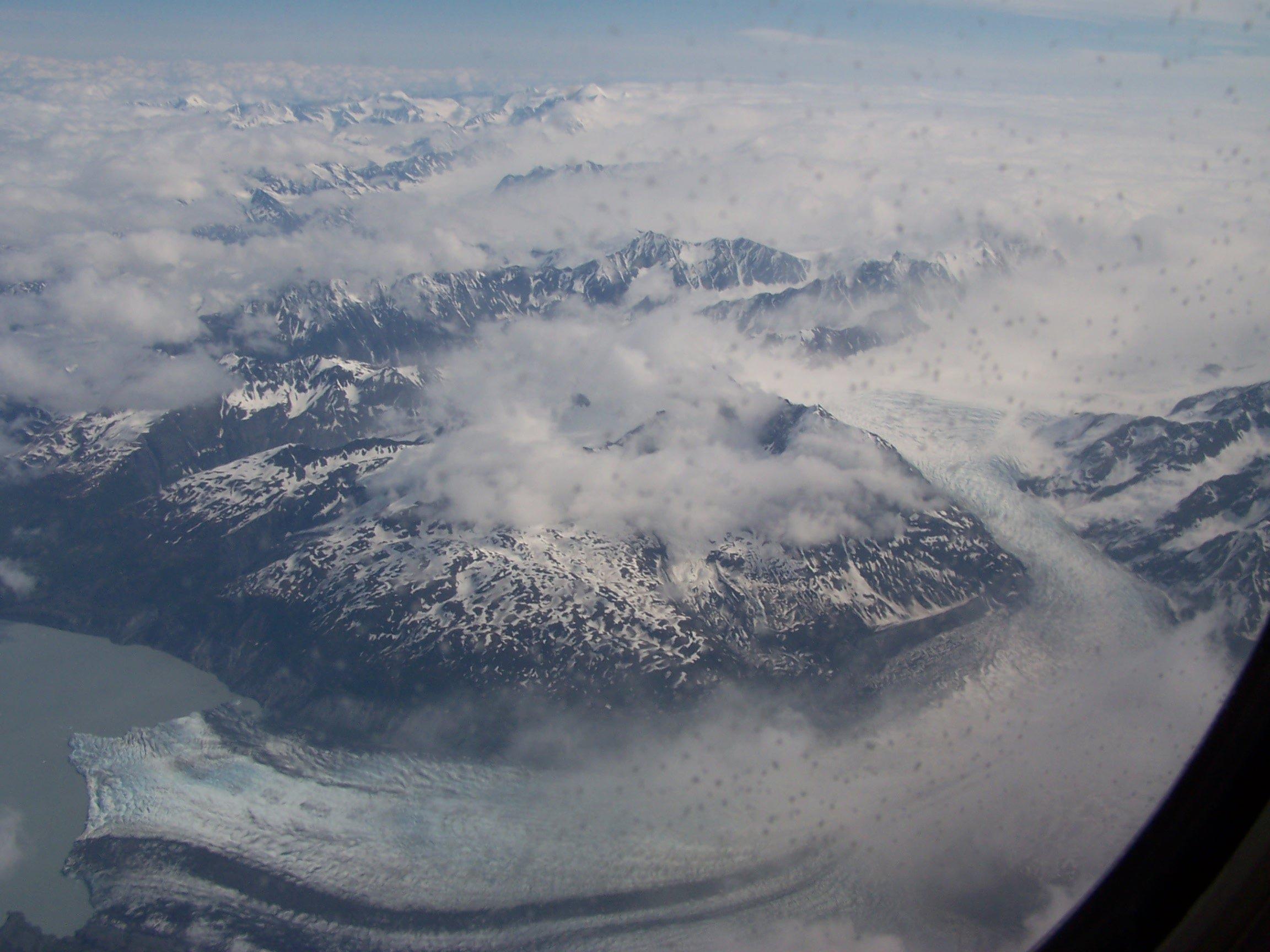 Alaska vu d'avion